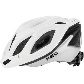 KED Spiri Two Helmet white silver